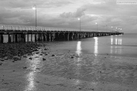 Shorncliffe Pier 3, QLD - Taken just after sunrise.