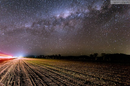 Stars and Light Trails 7, Scenic Rim, QLD - I went out for an overnight trip 02-03 Oct 13 to the Scenic Rim to specifically get some night shots away from...