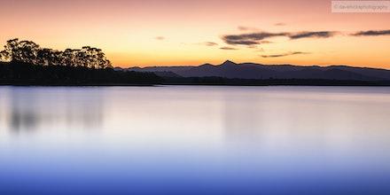 Lake Samsonvale from Forgan's Rest