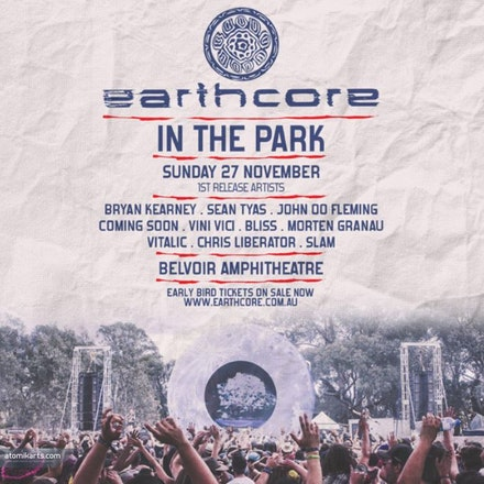 Earthcore in the Park, Belvoir Amphitheatre WA, 27 November 2016 - Earthcore in the Park, Belvoir Amphitheatre WA, 27 November 2016.