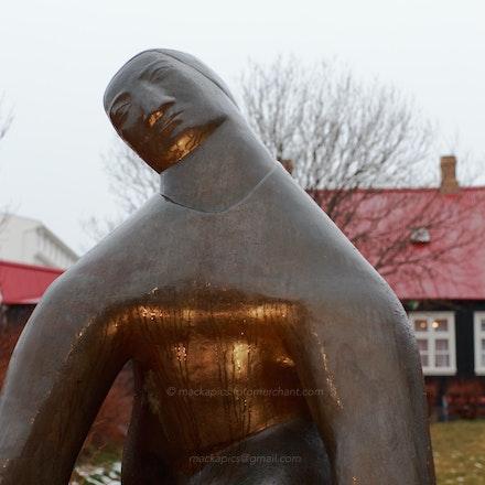 Reykjavik statue
