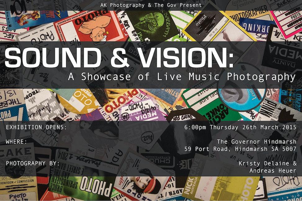 SOUND & VISION Landscape Poster 2000