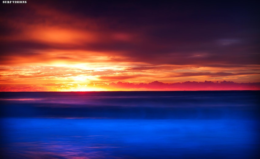 Neon Sunrise - South Narrabeen Beach