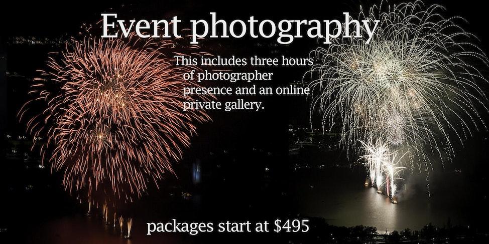 event photos price