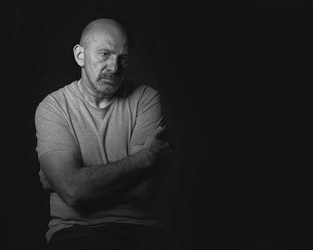 Albert - A simple portrait of Melbourne actor Albert Goikhman.