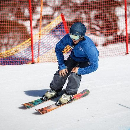 140912_div4_9005 - National Interschools Ski Cross Division 4 at Perisher, NSW (Australia) on September 12 2014. Jan Vokaty