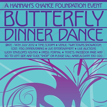 Hannah's Chance Foundation Butterfly Ball 2012 - Images from the Hannah's Chance Butterfly Ball 2012 held at the Twin Towns Services Club, Tweed Heads....