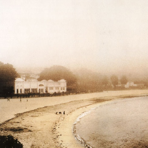 Bathers in the Mist - Each archival photograph is stamped and signed by Robert and a brief description of how it was taken.