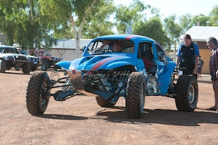 4x4 WA Offroad Racing Perenjori Day 1  01-03-2013