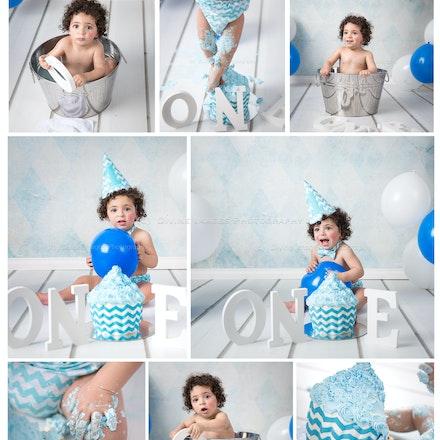 Cake Smash collage. sneak peek