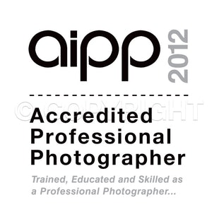 AIPP - Accredited professional Photographer with the Australian Institute of Professional Photography