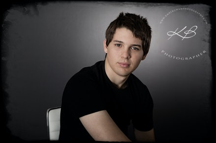 Zane - Studio portrait session in our Waterford Studio.