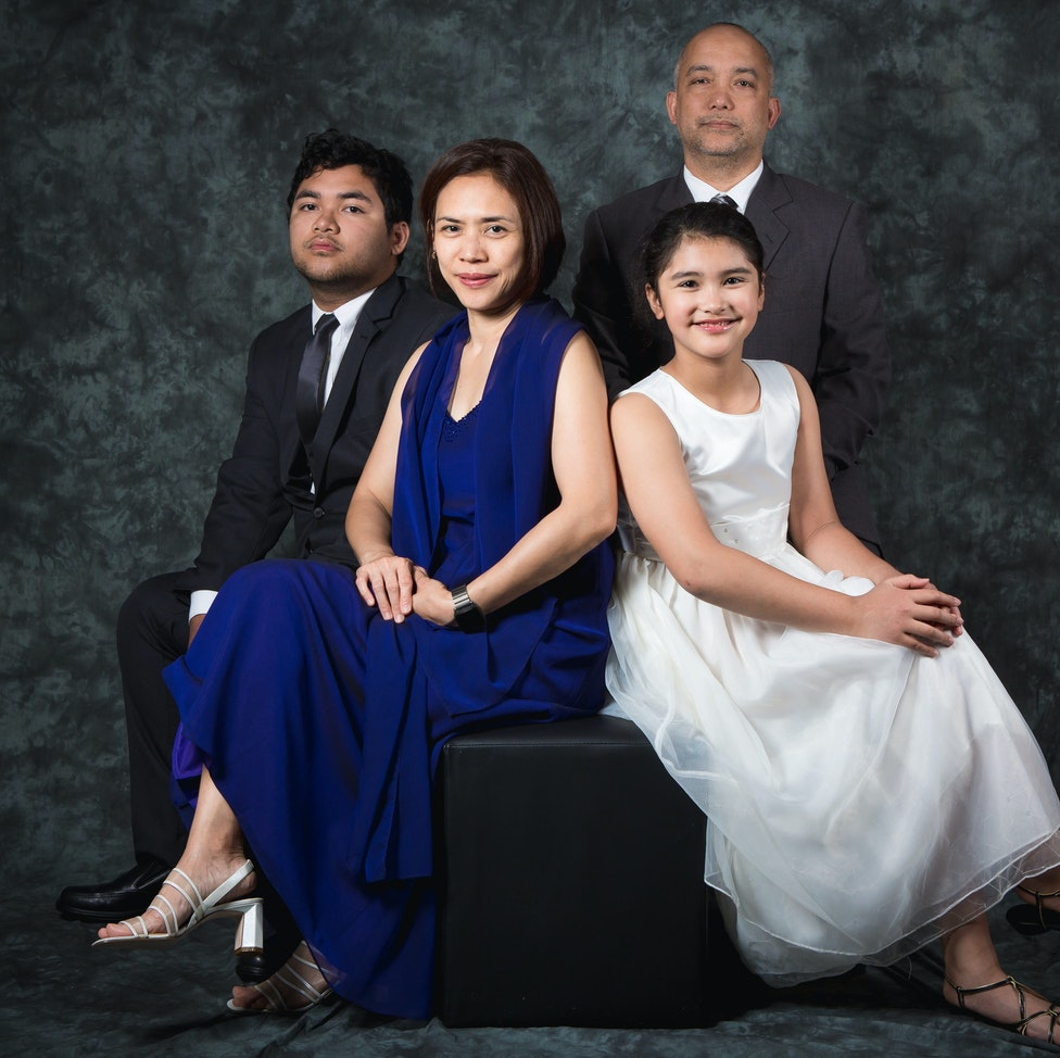 Studio Family Portraiture - This is for selection purposes only.