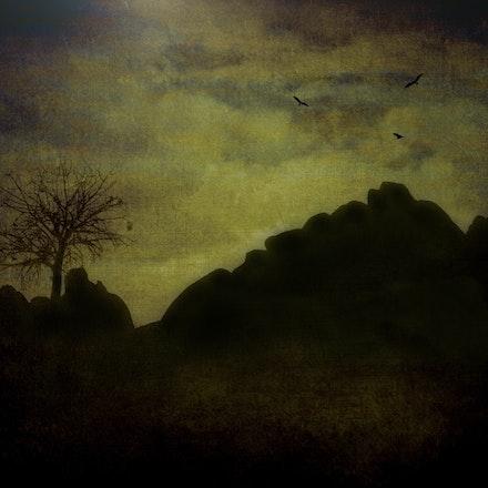Night Rocks - Outback Queensland Australia