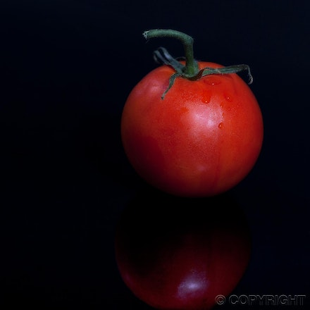fresh tomato - simple and elegant food image