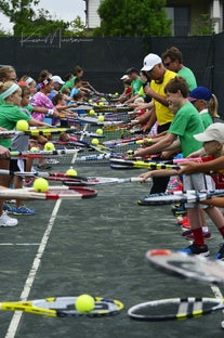 Wayne Bryan Tennis Clinic - Four Bridges CC
