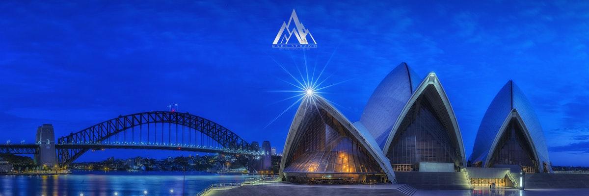 Sydney Blues. Sydney Harbour. NSW Australia. - Sydney Blues. Sydney Harbour. NSW Australia.  Sydney Blues, showcases the iconic Sydney Harbour Bridge...