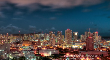 Honolulu Night - Location: Downtown