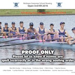 BGS Rowing Crews 2016