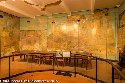 Map room where the serenader for WW2 was signed - 0987