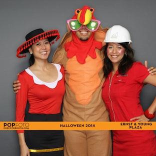 Ernst & Young Plaza Halloween 2014