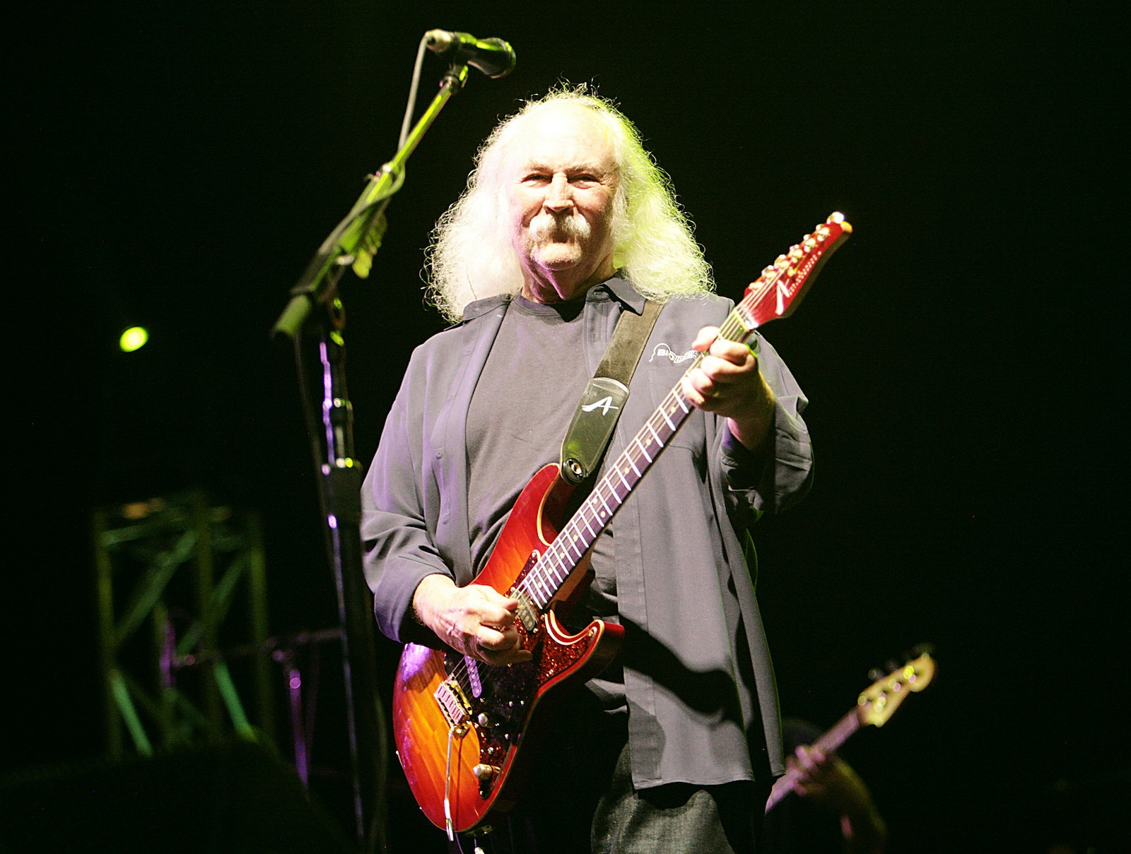 David Crosby - David Crosby from Crosby, Stills and Nash at the Byron Bay Blues and Roots festival in year 2012??