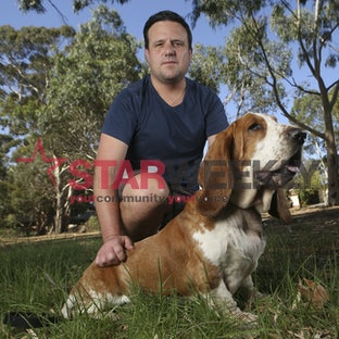 Ryan Tempany and Baxter - Pictures: Kristian Scott
