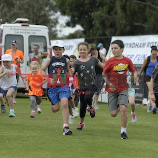 Wyndham Rotary Fun Run 2017 - Participants in the 2017 Wyndham Rotary Fun Run.