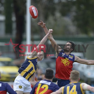 RDFL, preliminary final, Diggers Rest vs Rupertswood - RDFL, preliminary final, Diggers Rest vs Rupertswood. Pictures Damian Visentini