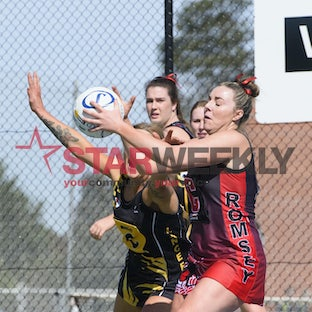 RDNL, A-grade grand final, Romsey vs Lancefield - RDNL, A-grade grand final, Romsey vs Lancefield. Pictures Shawn Smits