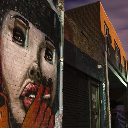 Looking Over Artists Lane Windsor