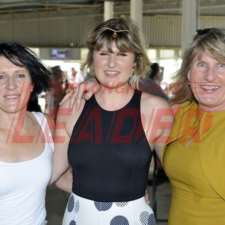 160312_SR29886 - Tracey, Mollie, Tilly, Hart at the Longreach Races, Saturday March 12, 2016.  sr/Photo by Sam Rutherford