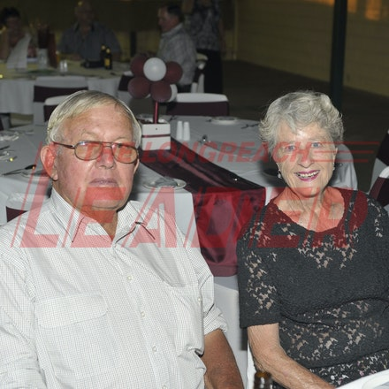 151107_SR24871 - John Miller, Trish at the Sportsmans Dinner in Barcaldine, Saturday November 7, 2015.  sr/Photo by Sam Rutherford.