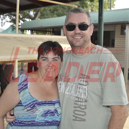 160430_SR25428 - Rae and John Osmond at the Tree of Knowledge Cup Race day in Barcaldine, Saturday April 30, 2016.  sr/Photo by Sam Rutherford