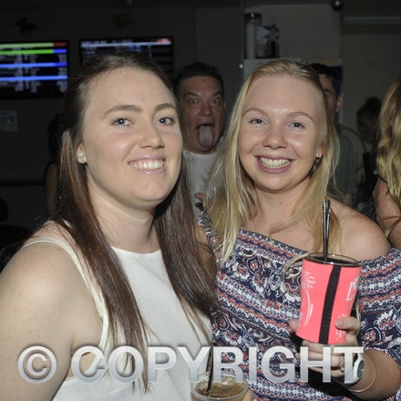 170204_SR27014 - Tylyena Penny and Kimberlee Wilson at the Longreach RSL Meet and Greet, Saturday February 4, 2016.   sr/Photo by Sam Rutherford