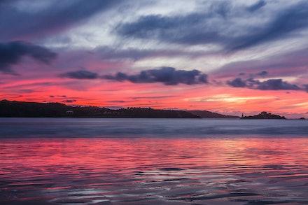 Sunset over Hells Gates-01 - OLYMPUS DIGITAL CAMERA